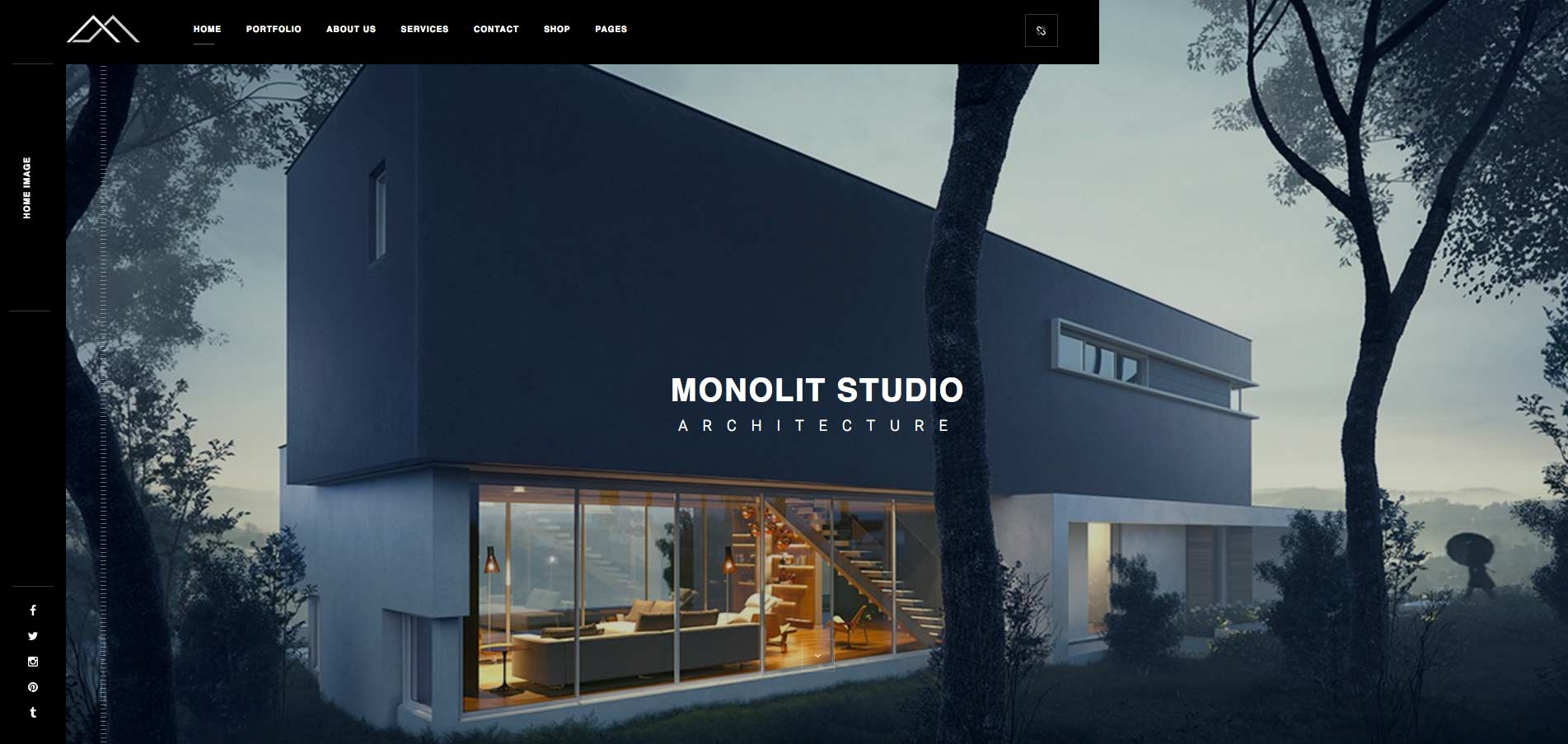 Monolit Responsive Architecture WordPress Theme