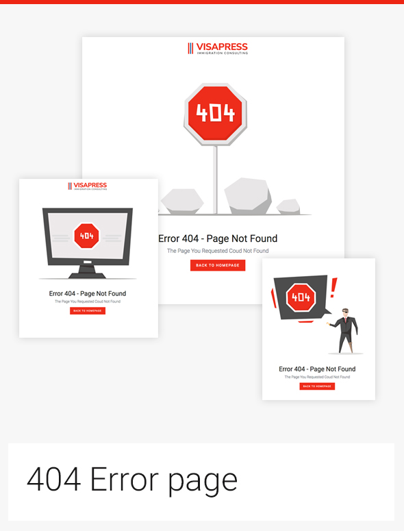 simple 404 error page design bootstrap template