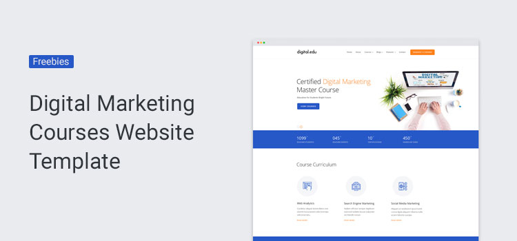 Digital Marketing SEO Website Template